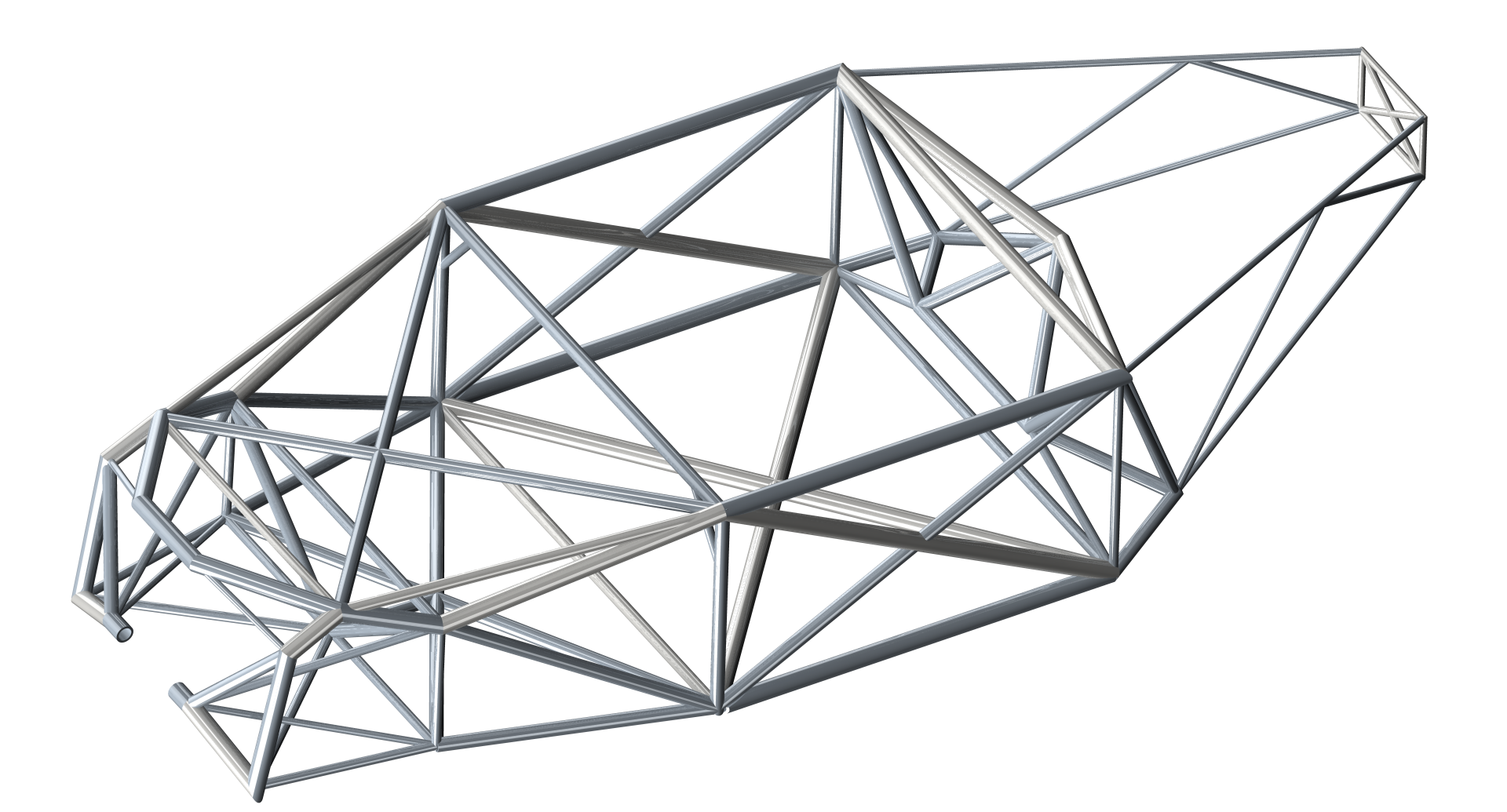 Example: Structural elements for the design of a tubular frame | fem ...